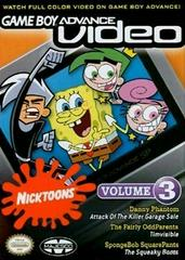 GBA Video Nicktoons Collection Volume 3 GameBoy Advance Prices