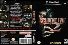 Artwork - Back, Front | Resident Evil 2 Gamecube