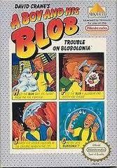 A Boy And His Blob Trouble On Blobolonia - Front | A Boy and His Blob Trouble on Blobolonia NES