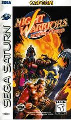 Manual - Front | Night Warriors Darkstalkers' Revenge Sega Saturn