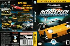 Artwork - Back, Front (Players Choice) | Need for Speed Hot Pursuit 2 Gamecube