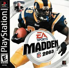 Manual - Front | Madden 2003 Playstation