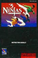 3 Ninjas Kick Back - Instructions | 3 Ninjas Kick Back Super Nintendo