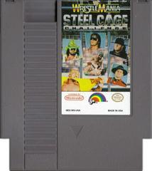 Cartridge | WWF Wrestlemania Steel Cage Challenge NES