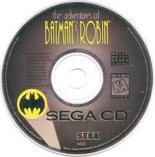 Adventures Of Batman And Robin - Disc | Adventures of Batman and Robin Sega CD