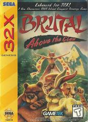 Brutal Above The Claw - Front | Brutal: Above the Claw Sega 32X