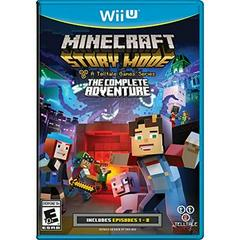Minecraft: Story Mode Complete Adventure Wii U Prices