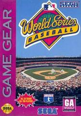World Series Baseball Sega Game Gear Prices