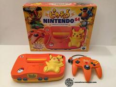 Pikachu Orange Console JP Nintendo 64 Prices