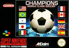 Champions World Class Soccer PAL Super Nintendo Prices