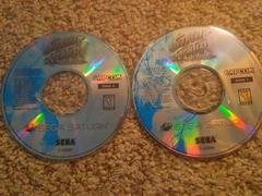 Disc Art | Street Fighter Collection Sega Saturn