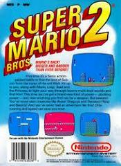 Super Mario Bros. 2 - Back | Super Mario Bros 2 NES
