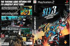 Artwork - Back, Front | Sly 3 Honor Among Thieves Playstation 2