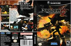Artwork - Back, Front   Shadow the Hedgehog Gamecube