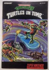 Manual | Teenage Mutant Ninja Turtles IV Turtles in Time Super Nintendo
