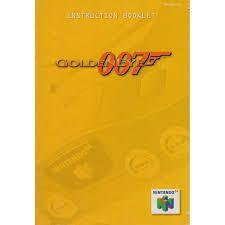 007 GoldenEye - Instructions   007 GoldenEye [Player's Choice] Nintendo 64