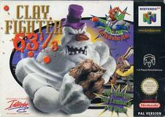 Clay Fighter 63 1/3 PAL Nintendo 64 Prices