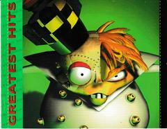 Rear Artwork - Inside | Crash Bandicoot 2 Cortex Strikes Back [Greatest Hits] Playstation