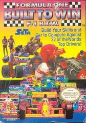 Formula One Built To Win NES Prices