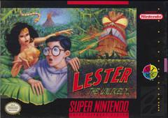 Lester the Unlikely Cover Art
