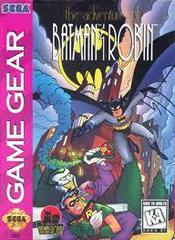 Adventures Of Batman And Robin - Front | Adventures of Batman and Robin Sega Game Gear