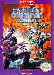 Street Fighter 2010 The Final Fight - Front | Street Fighter 2010 the Final Fight NES