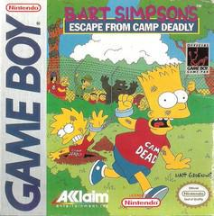 Bart Simpson's Escape from Camp Deadly GameBoy Prices