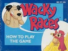 Wacky Races - Instructions   Wacky Races NES