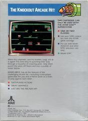 Mario Bros - Back   Mario Bros. Atari 5200