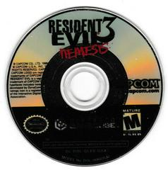 Game Disc | Resident Evil 3 Nemesis Gamecube