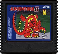 Adventure II - Cartridge | Adventure II Atari 5200