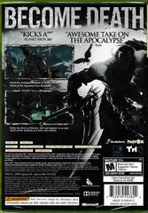 Back Of Case | Darksiders II Xbox 360