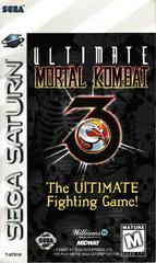 Manual - Front | Ultimate Mortal Kombat 3 Sega Saturn