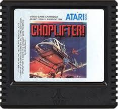 Choplifter! - Cartridge | Choplifter! Atari 5200