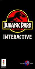 Jurassic Park Interactive - Front | Jurassic Park Interactive 3DO