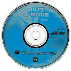 Game Disc   Bust-a-Move 2 Arcade Edition Sega Saturn
