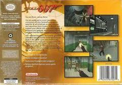 007 GoldenEye [Player'S Choice] - Back   007 GoldenEye [Player's Choice] Nintendo 64