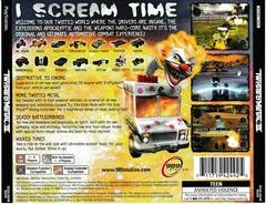 Back Of Case | Twisted Metal 3 Playstation