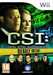 CSI: Crime Scene Investigation: Deadly Intent PAL Wii Prices