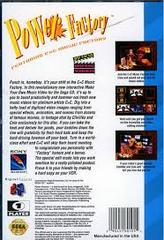 C&C Music Factory Make My Video - Back | Power Factory: Featuring C+C Music Factory Sega CD