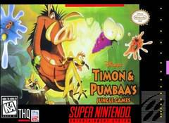 Timon and Pumbaa Jungle Games Cover Art