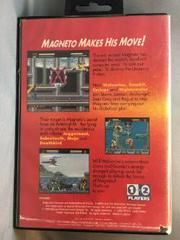 Back Of Case | X-Men Sega Genesis