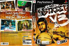 Artwork - Back, Front   NBA Street Vol 3 Playstation 2