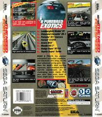 Back Of Box | Need for Speed Sega Saturn