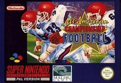 All-American Championship Football PAL Super Nintendo Prices