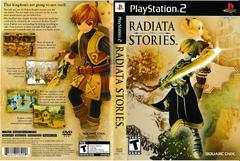 Artwork - Back, Front   Radiata Stories Playstation 2