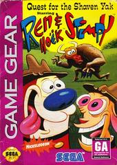 Ren and Stimpy Quest for the Shaven Yak Sega Game Gear Prices