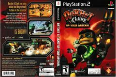 Artwork - Back, Front | Ratchet and Clank Up Your Arsenal Playstation 2