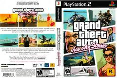 Artwork - Back, Front | Grand Theft Auto Vice City Stories Playstation 2