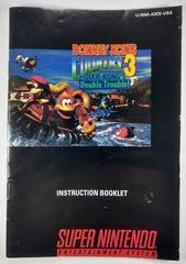 Manual | Donkey Kong Country 3 Super Nintendo